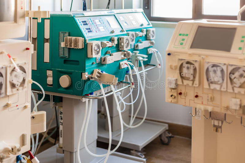 Hämodialysebezirk lizenzfreie stockfotografie