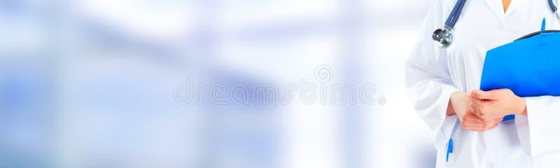 Hände Arztes. lizenzfreies stockfoto