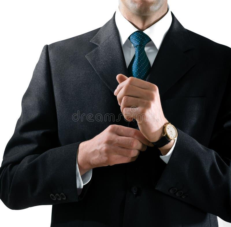 Hände des Geschäftsmannes stockbilder