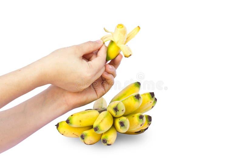 Download Hände Halten Frische Banane An Stockfoto - Bild von geschmack, hintergrund: 26357614