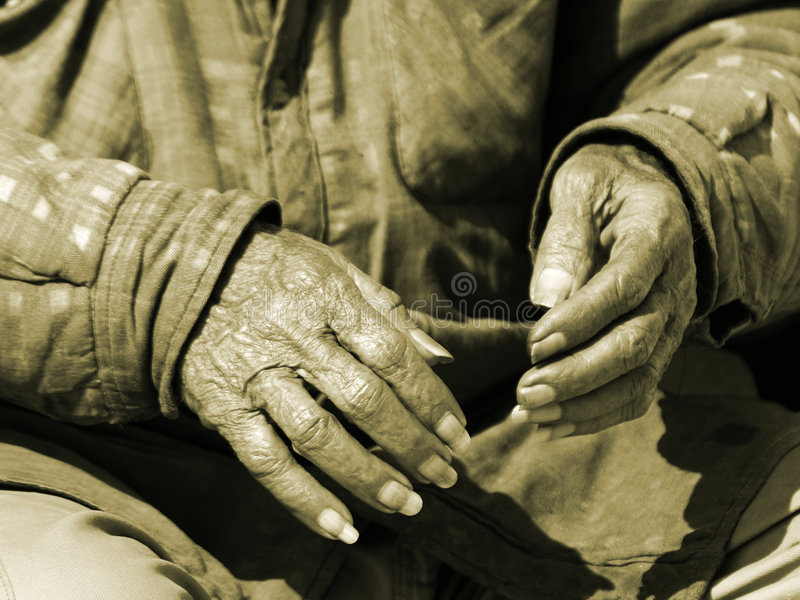 Hände Von Zeit 2 Lizenzfreie Stockbilder