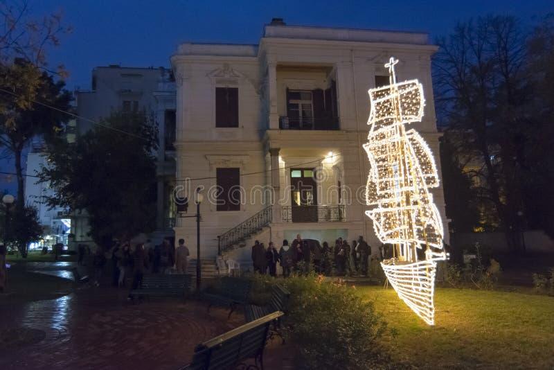 Händelse thessaloniki 2018 för öppet hus arkivbild