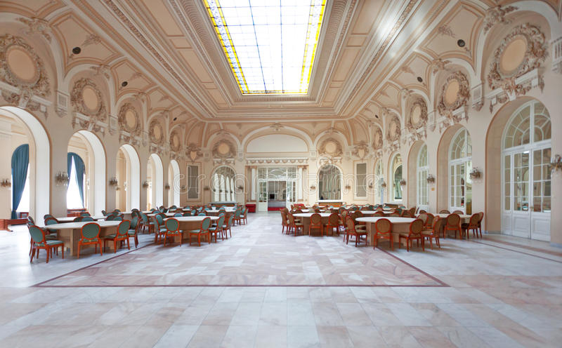 Händelsekorridor royaltyfri bild