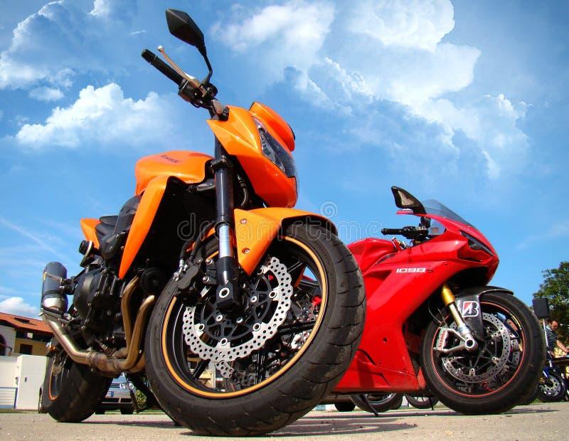 händelsemotorbike fotografering för bildbyråer