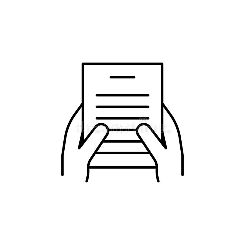 Händer fingrar, fred, två skisserar symbolen Beståndsdel av den enkla symbolen för websites, rengöringsdukdesign, mobil app, info stock illustrationer