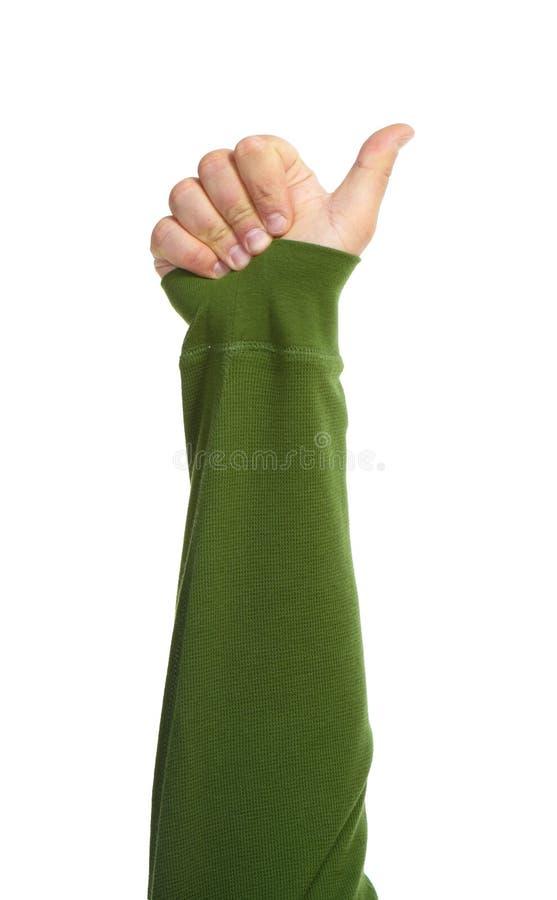 Händer med gester royaltyfri bild
