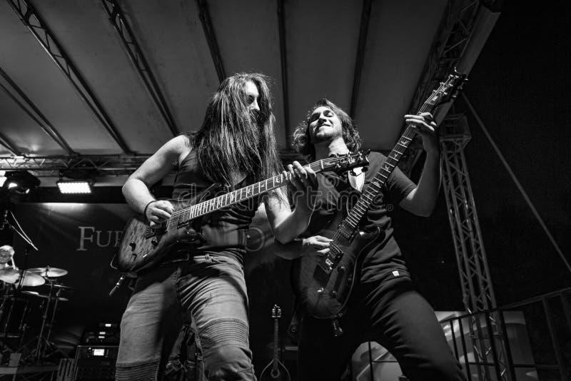 Hänförelse Gallico på den Pollo metallfesten BG 2019 royaltyfria foton