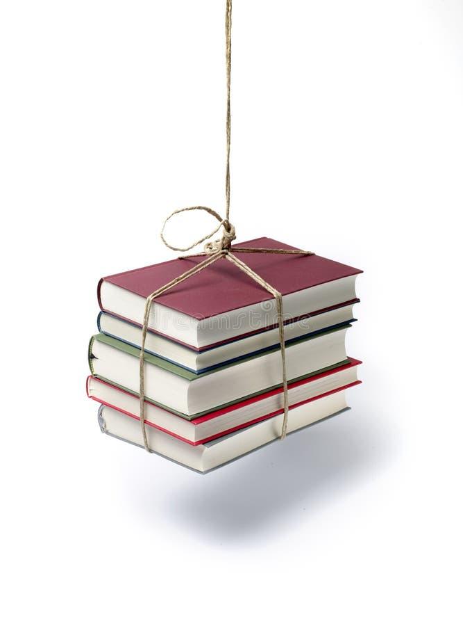 hänga för böcker arkivbild