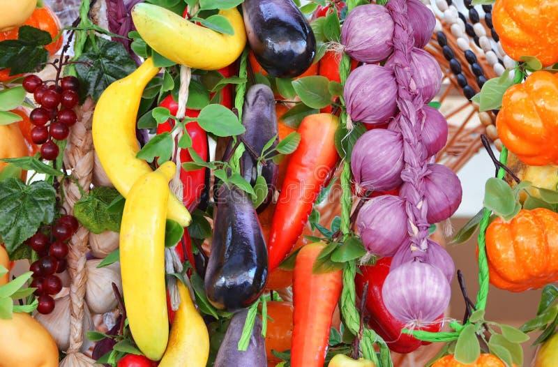 Hänga för grönsaker arkivbilder