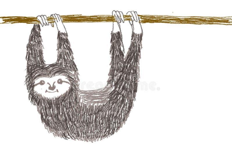 Hänga för sengångare vektor illustrationer