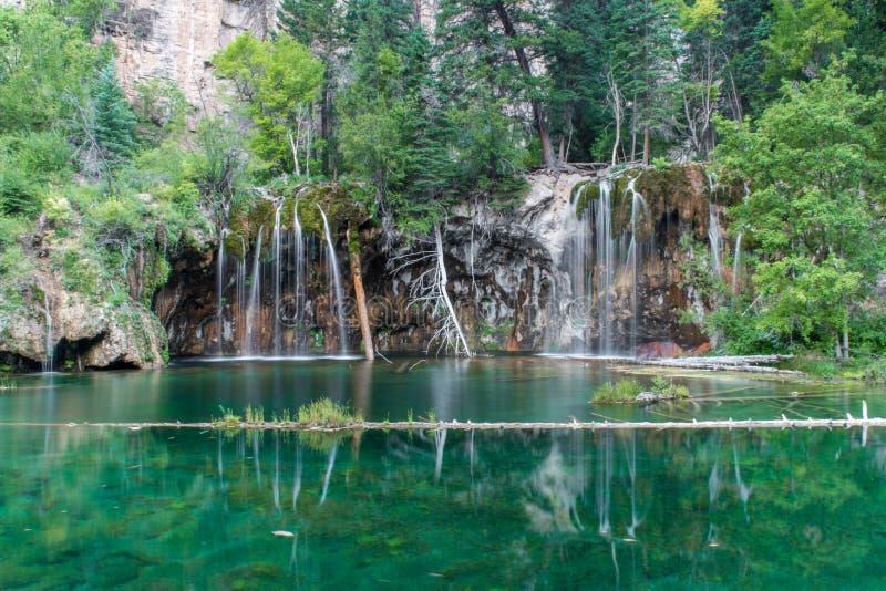 hängande lake arkivbilder