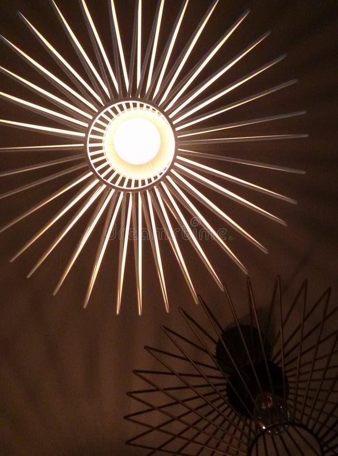 hängande lampa royaltyfria foton