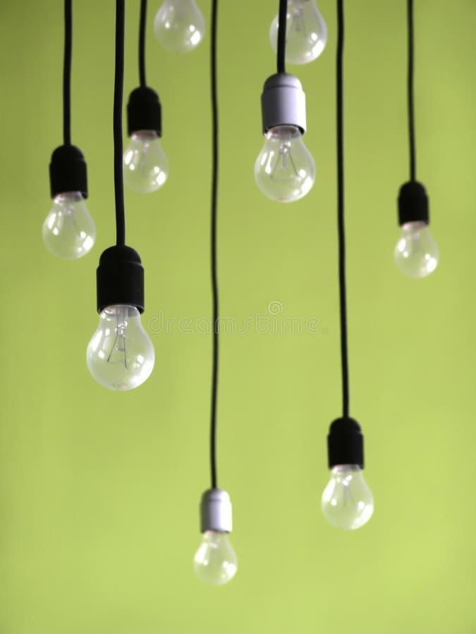 hängda lampor arkivfoton