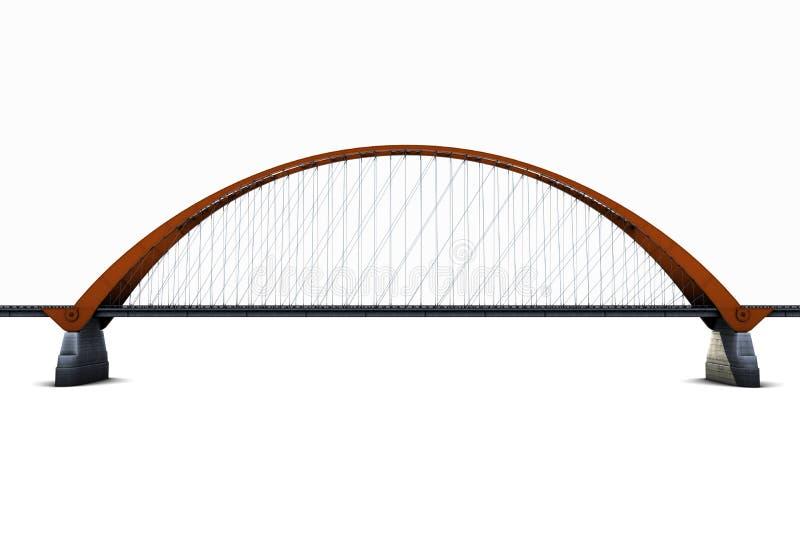 Hängebrücke lizenzfreie abbildung