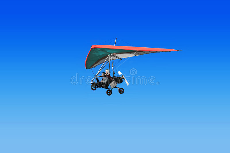 Hängen-Segelflugzeug stockbilder