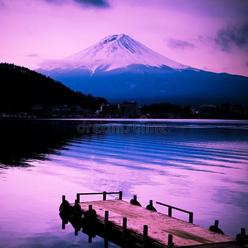 Hängen Sie Fuji ein lizenzfreie stockfotografie