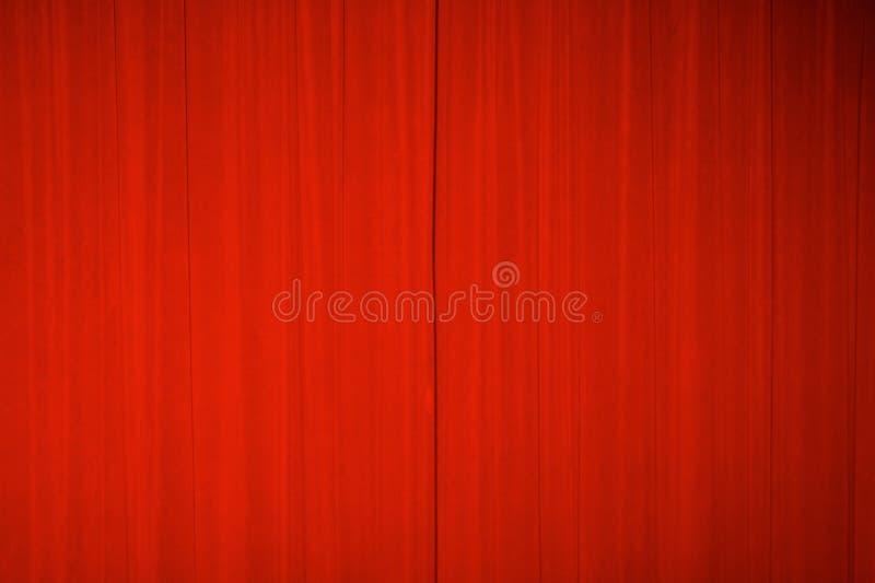 hänger upp gardiner teatern fotografering för bildbyråer