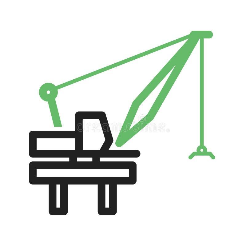 Download Härbärgera kranen vektor illustrationer. Illustration av symbol - 78732200