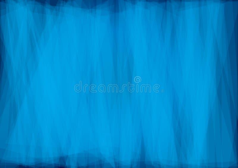 Härlig abstrakt blå bakgrund   royaltyfria bilder