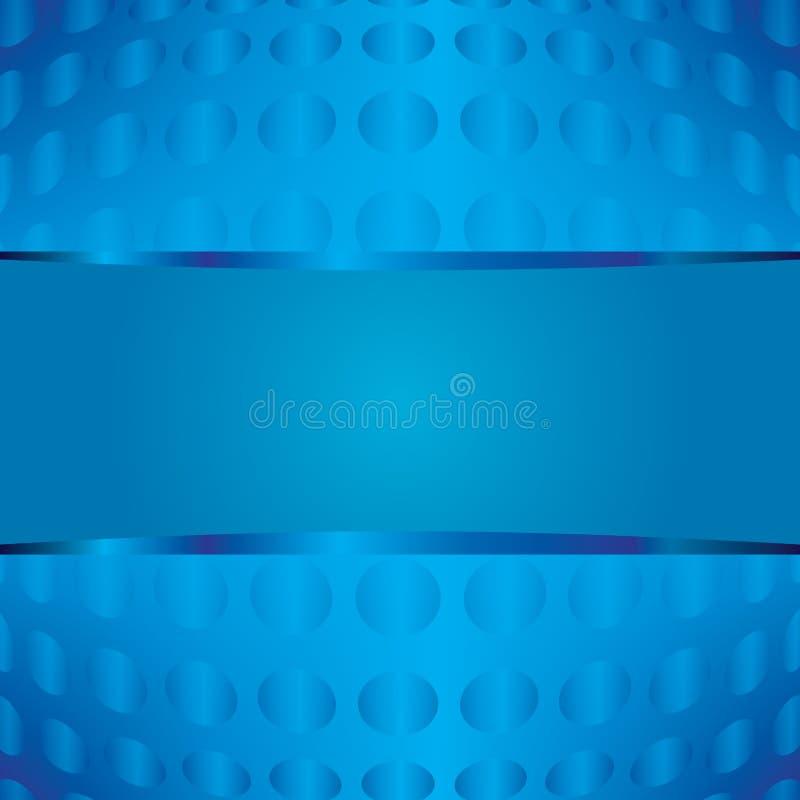 Härlig abstrakt blå designbakgrund royaltyfria bilder