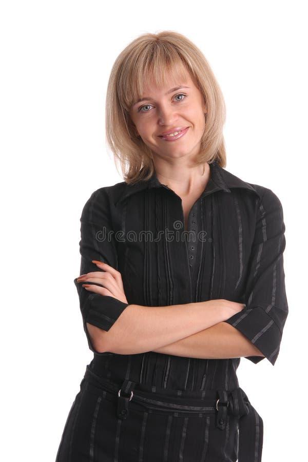 härlig affärskvinna 11 royaltyfri bild