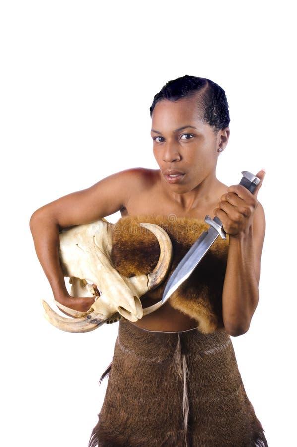 Härlig afrikansk amerikan royaltyfri foto