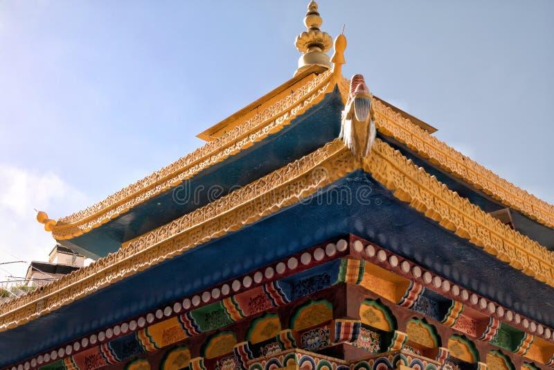 Härlig arkitektur av kloster royaltyfria bilder
