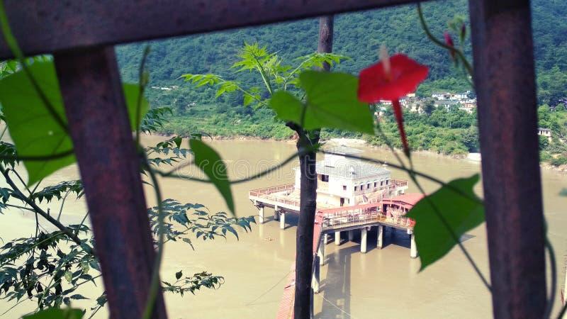 Härlig attraktiv bild för Uttarakhand natur royaltyfria foton