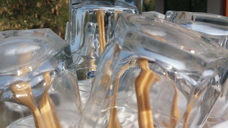 Härlig bild av exponeringsglas arkivfoton