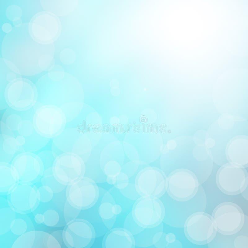 härlig blue för bakgrund stock illustrationer