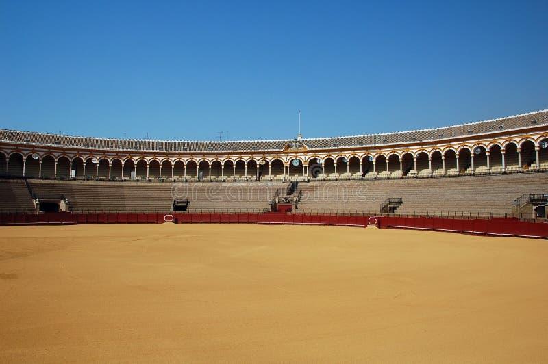 härlig bullfight s för arena arkivfoton