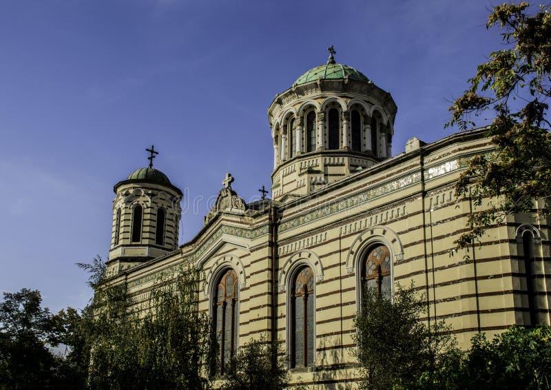 Härlig byggnad i Sofia, Bulgarien royaltyfri foto