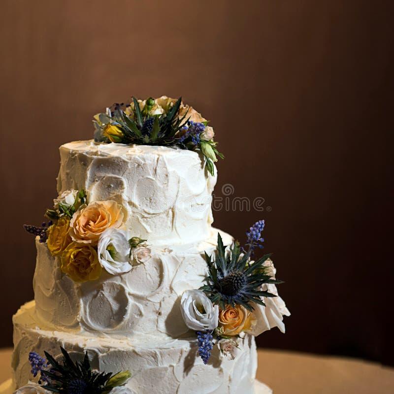 härlig cake arkivfoto