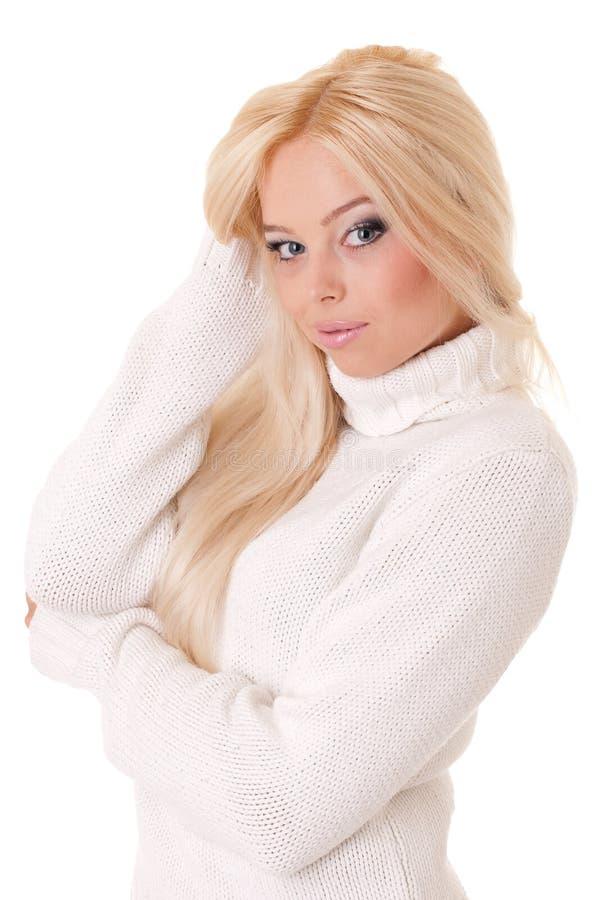 härlig caucasian flicka royaltyfria bilder