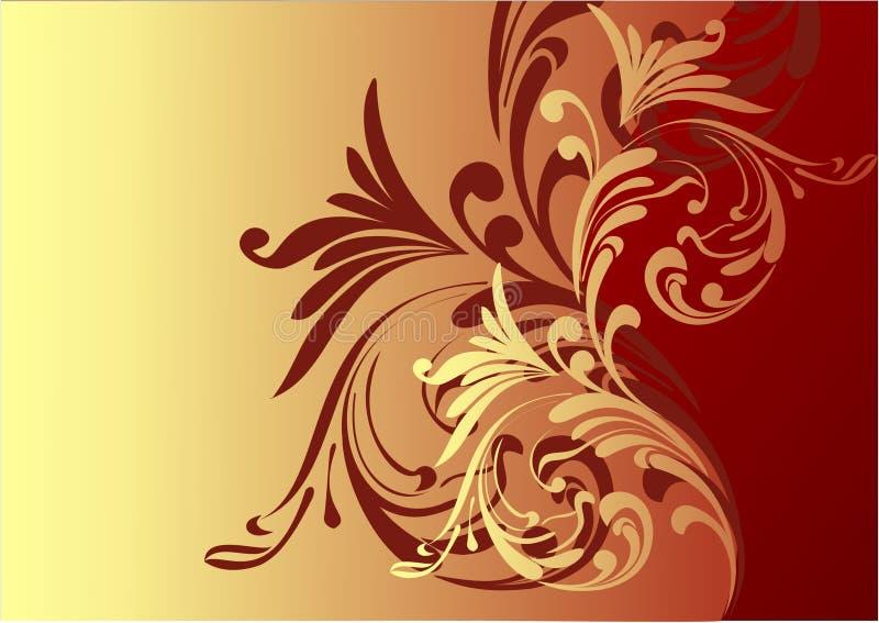 härlig choklad för bakgrund stock illustrationer