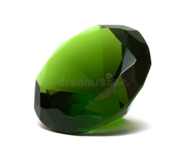 härlig crystal diamant royaltyfri foto