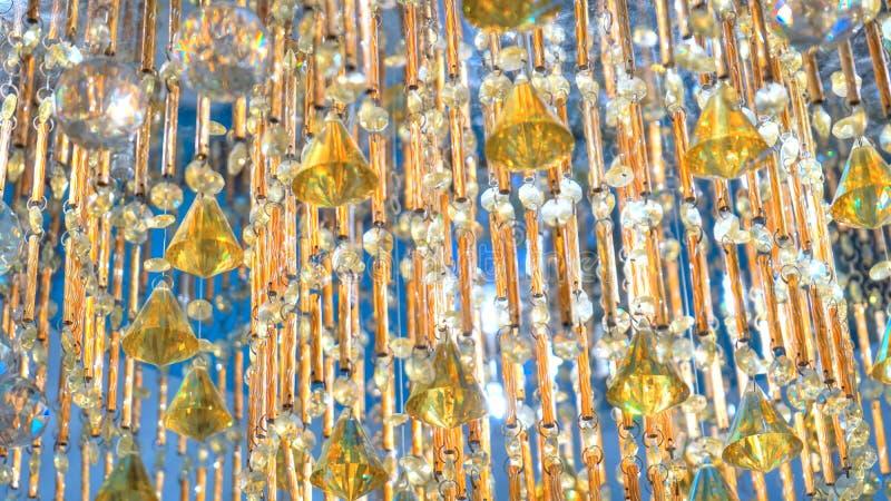 Härlig crystal lampa royaltyfri fotografi