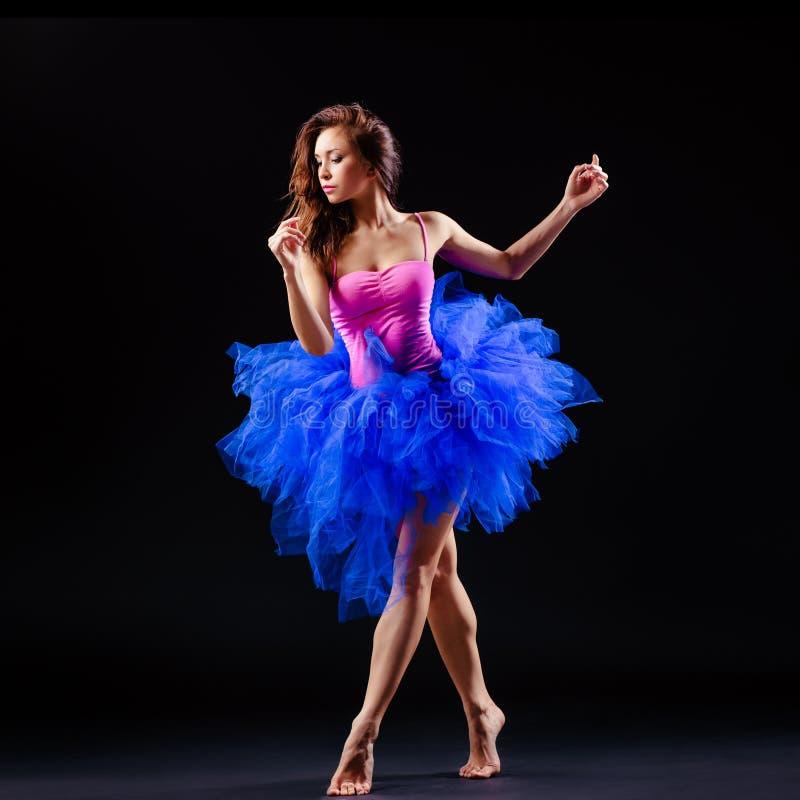 härlig dansare för balett royaltyfria foton