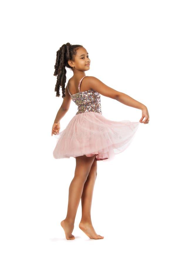 härlig dansflicka little royaltyfria bilder