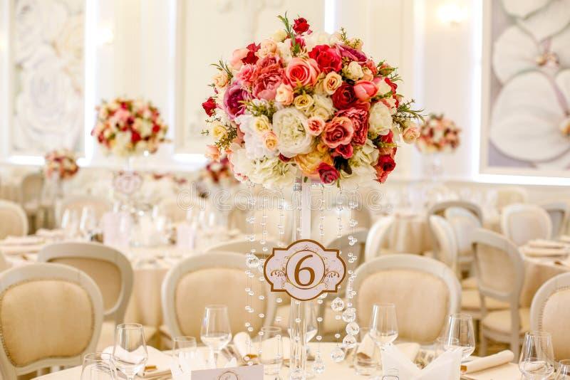 Härlig dekor för att gifta sig royaltyfri fotografi
