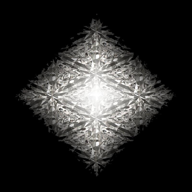 härlig diamant vektor illustrationer