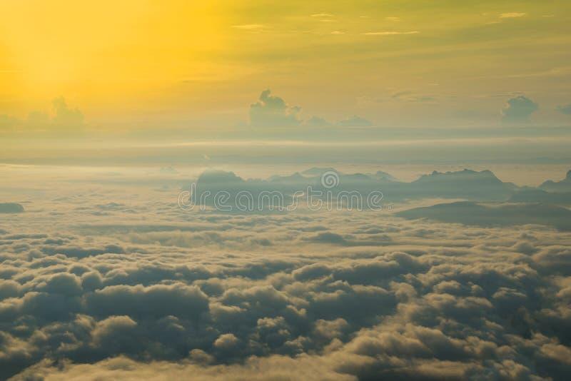Härlig dimma royaltyfri fotografi