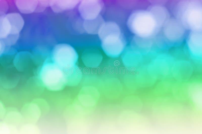 Härlig färgabstrakt begreppmodell stock illustrationer