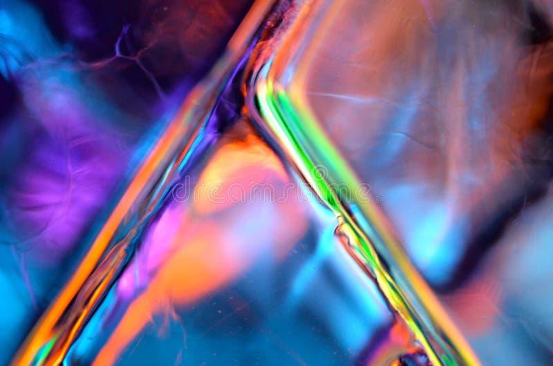 Härlig, färgrik och abstrakt bakgrund fotografering för bildbyråer