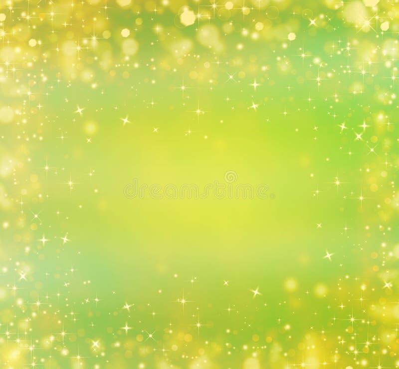 härlig festlig green för bakgrund stock illustrationer