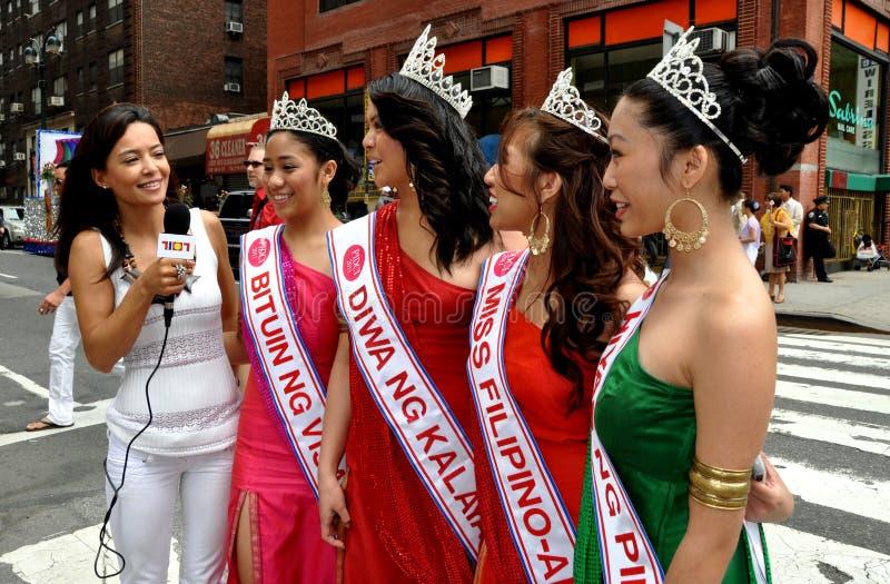 Download Härlig Filippinanyc Ståtar Kvinnor Redaktionell Foto - Bild av miss, hämnare: 19784450