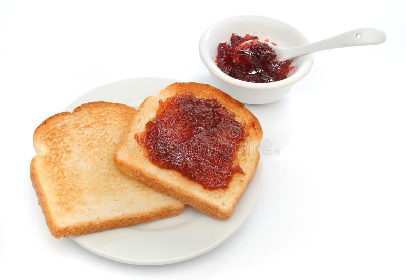 härlig frukostplats royaltyfri foto