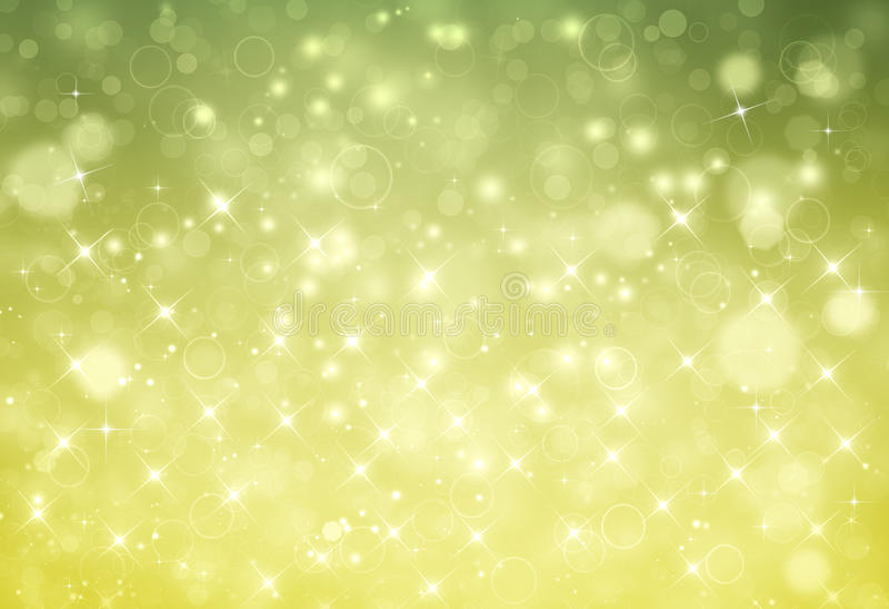 Härlig grön festlig bakgrund stock illustrationer