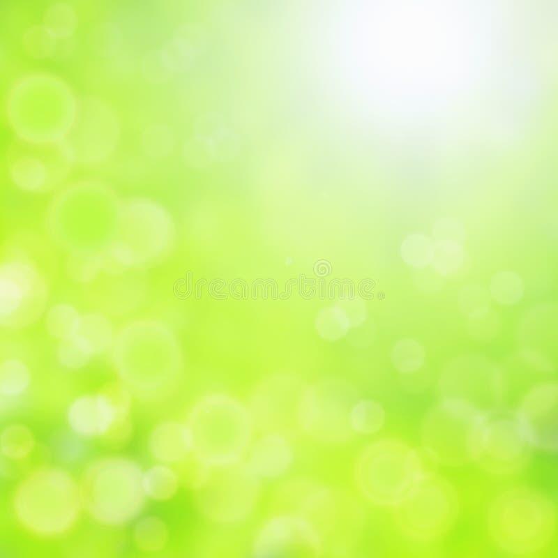 härlig green för bakgrund stock illustrationer