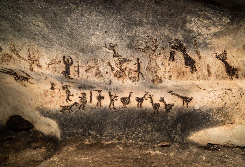 Härlig grotta i Bulgarien vektor illustrationer